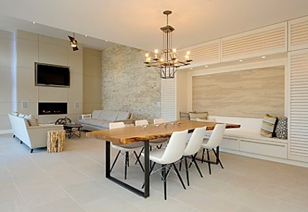 Flexible Natural Stone for Feature Wall Design