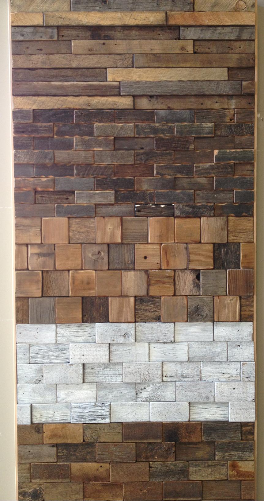 Reclaimed Wood Wall Tiles, The Eco Floor Store