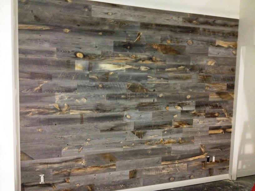 Peel and Stick Wood Tile