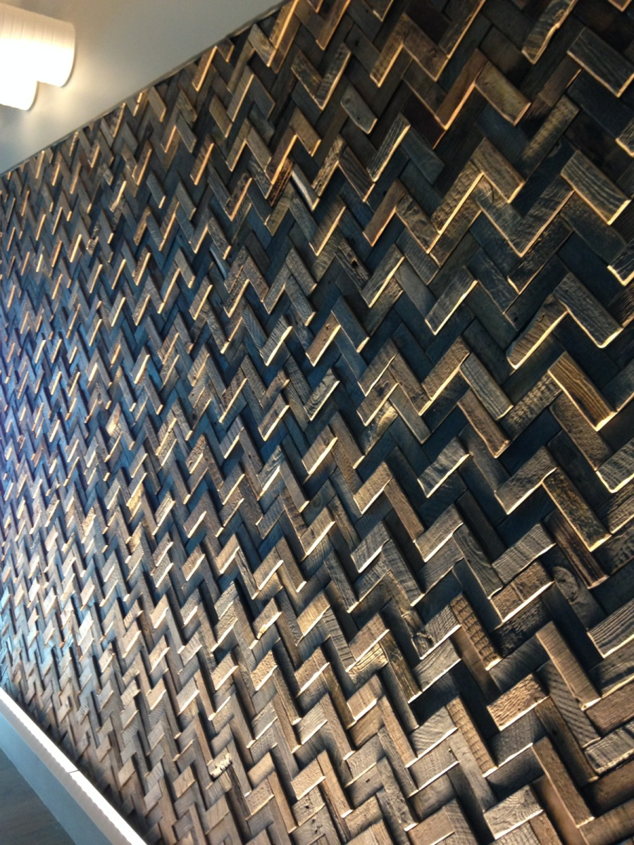 Wood Feature Wall project profile: kpmg langley wall feature – eco floor store