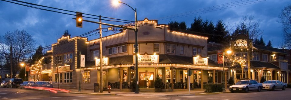 Wendel's Bookstore and Cafe in Fort Langley