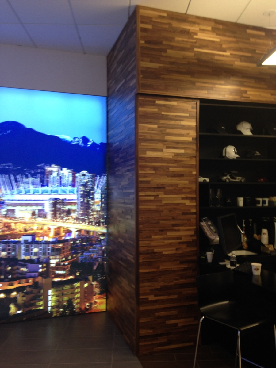 Feature wall design ideas the eco floor store for Mercedes benz dealership locations