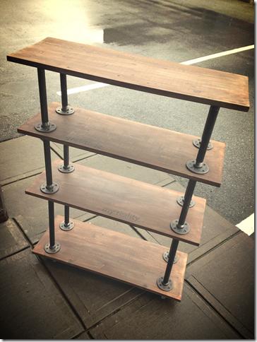 custom wood shelves