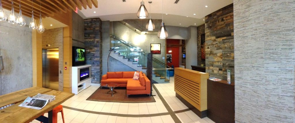 District Main Vancouver Lobby Lounge