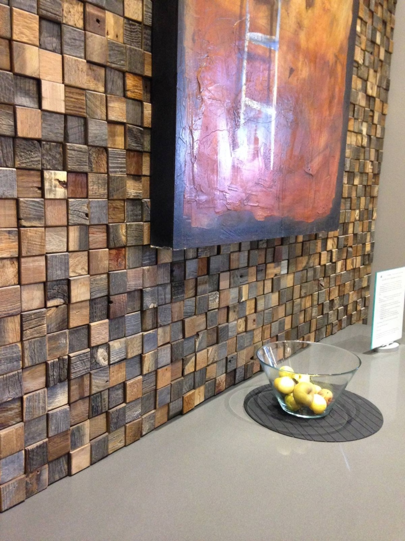 Reclaimed Wood Wall Tiles