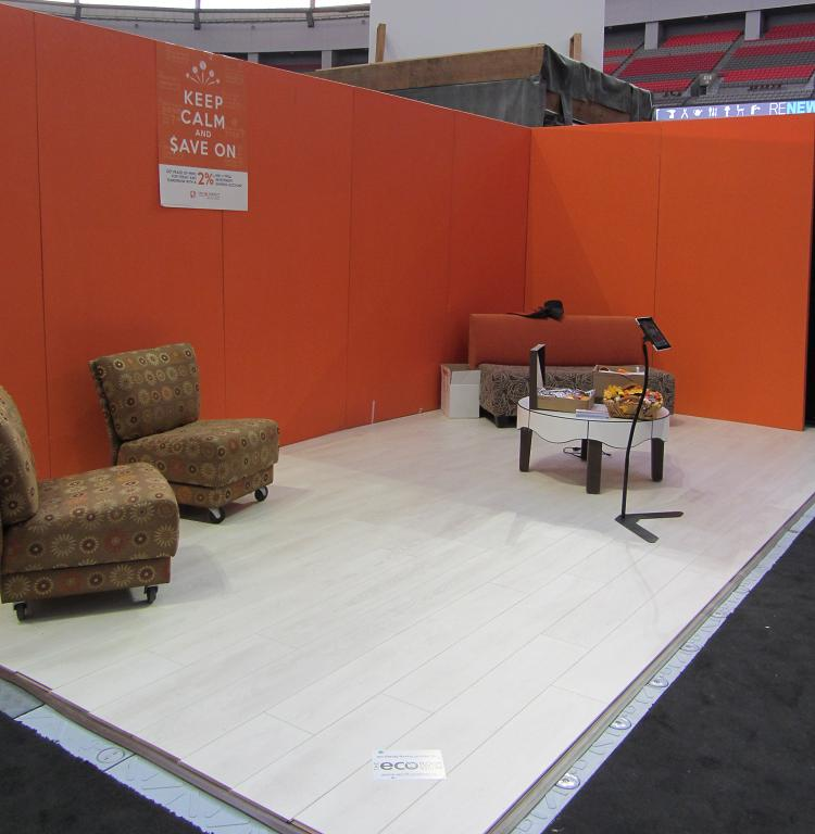 ING Direct - Booth at 2012 BC Home & Garden Show
