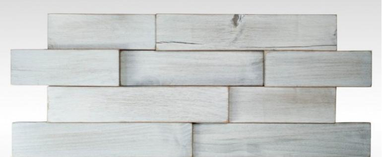 E&S Wall Tiles - White Parkwood Pattern
