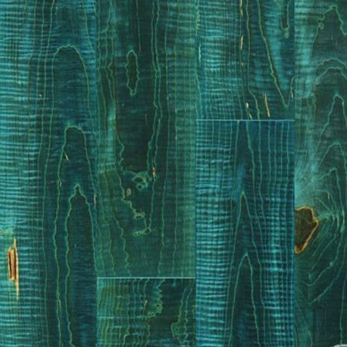 Provenza Hardwood Turquoise Mosaic