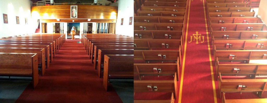 Holy Family Parish - Before After