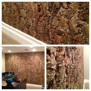 Outer Burl Cork Wall Panels