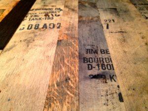 Whiskey and Bourbon Barrel Wood Hardwood Floors