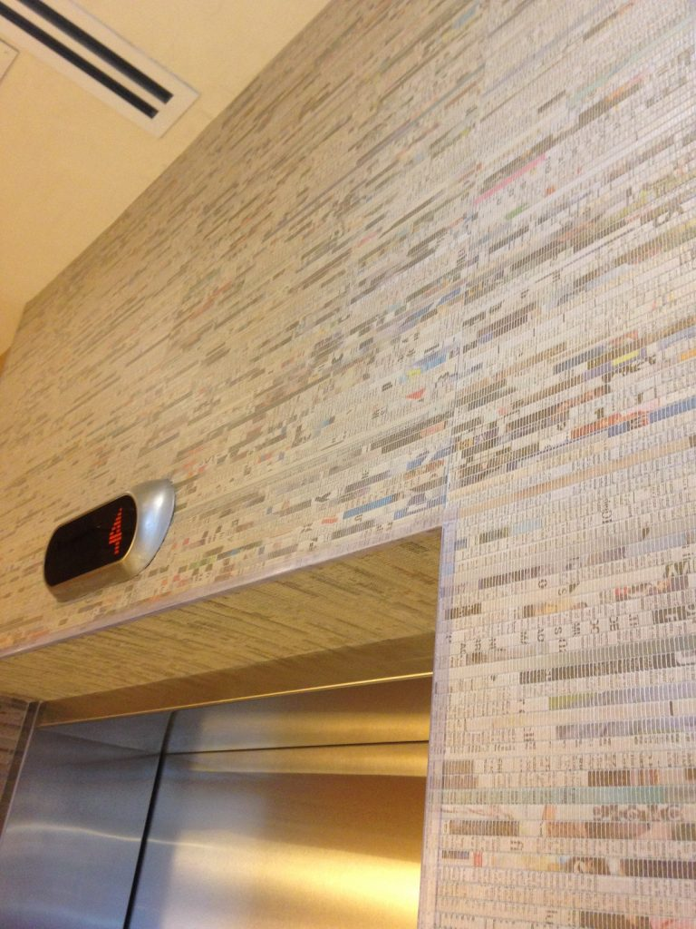 Newsprint Wallpaper Eco Floor Store Flooring Amp Wall