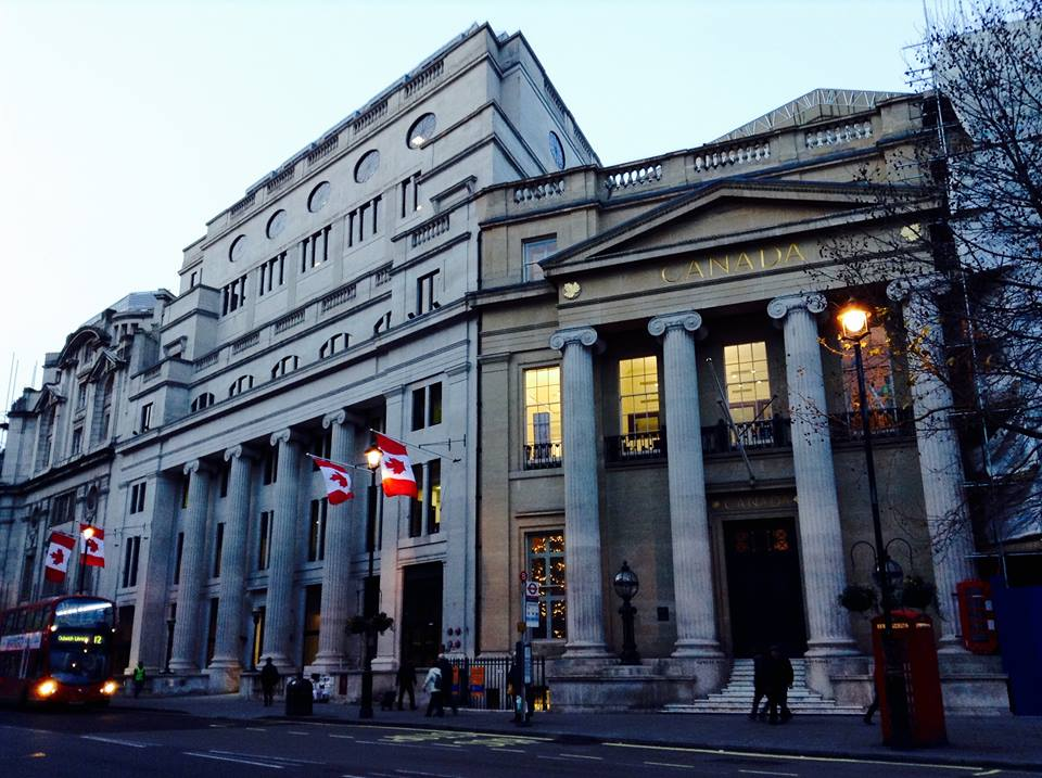 Canada House in London, England