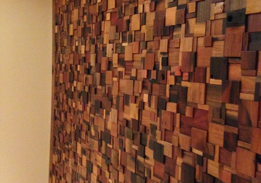 Wood Finish Elevation Tiles : Reclaimed boat wood wall tiles in white rock eco floor store