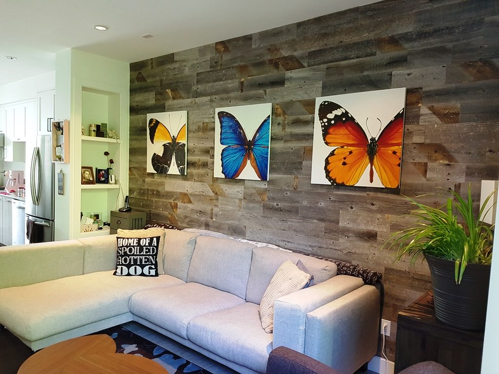 Stikwood Feature Wall