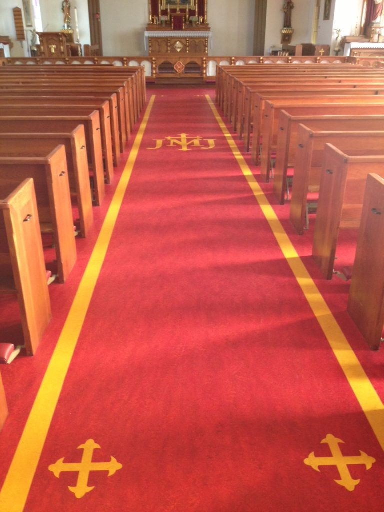 Holy Family Parish Marmoleum Eco Floor Store